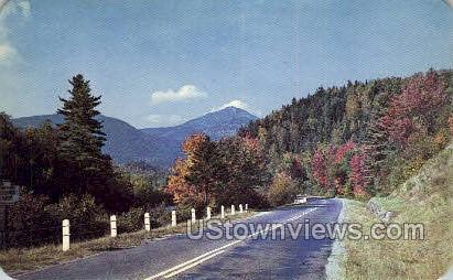 Wilmington - Adirondack Mts, New York NY Postcard