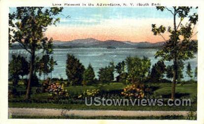 Lake Pleasant - Adirondacks, New York NY Postcard