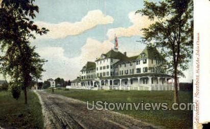 Hotel Au Sable Chasm - Adirondack Mts, New York NY Postcard