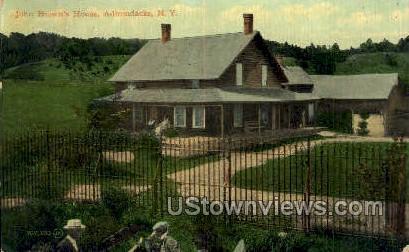 John Brown's House - Adirondacks, New York NY Postcard