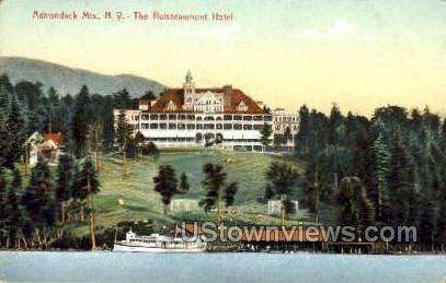 The Ruisseaumont Hotel - Adirondack Mts, New York NY Postcard