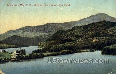 Whiteface from Grand View Hotel - Adirondack Mts, New York NY Postcard