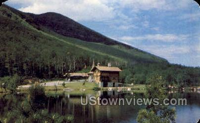 Toll House, Whiteface Mt. - Adirondack Mts, New York NY Postcard