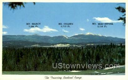 Mt. Marcy, Mt. Colden, Mt. MacIntyre - Adirondack Mts, New York NY Postcard