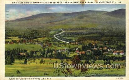 Wilmington - Adirondacks, New York NY Postcard