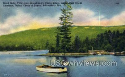 Third Lake - Adirondack Mts, New York NY Postcard