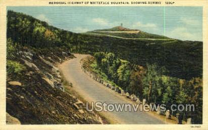 Whiteface Mt. - Adirondacks, New York NY Postcard
