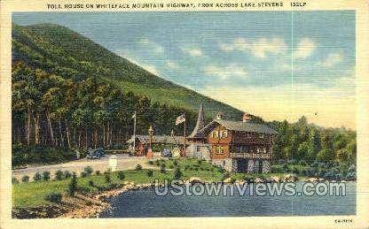 Toll House, Whiteface Mt. - Adirondacks, New York NY Postcard