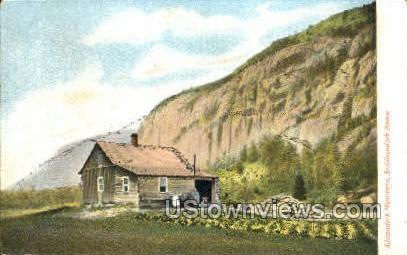 An Adirondack Home - Adirondack Mts, New York NY Postcard