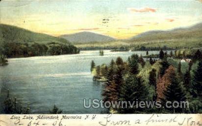 Loon Lake - Adirondack Mts, New York NY Postcard