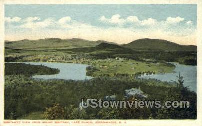 Lake Placid - Adirondacks, New York NY Postcard