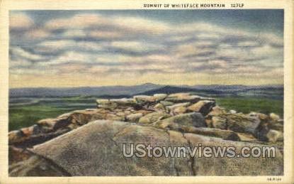 Summit of Whiteface Mt. - Adirondacks, New York NY Postcard