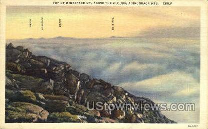 Whiteface Mt. - Adirondack Mts, New York NY Postcard