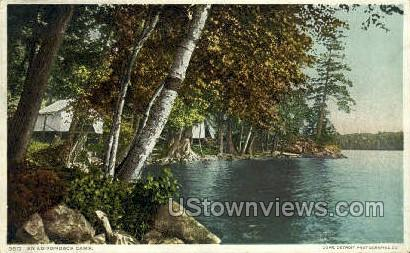 Adirondack Camp - Adirondacks, New York NY Postcard