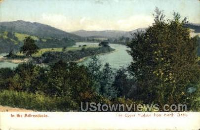 Upper Hudson, North Creek - Adirondacks, New York NY Postcard
