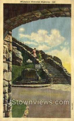 Whiteface Memorial Highway - Adirondacks, New York NY Postcard