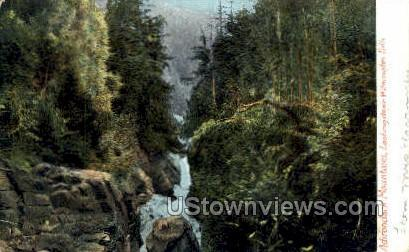 Wilmington Falls - Adirondack Mts, New York NY Postcard