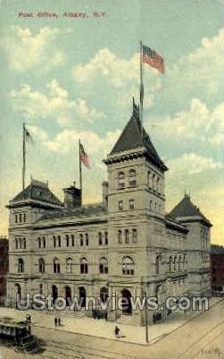 Post Office - Albany, New York NY Postcard