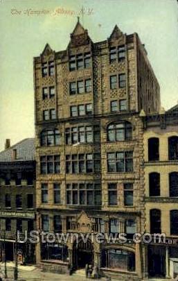 The Hampton - Albany, New York NY Postcard
