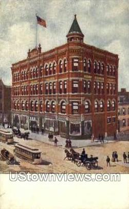 Albany Business College - New York NY Postcard