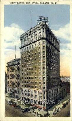 New Hotel Ten Eyck - Albany, New York NY Postcard