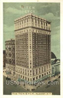 The Ten Eyck - Albany, New York NY Postcard