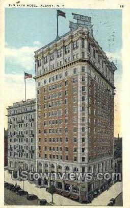 The Eyck Hotel - Albany, New York NY Postcard