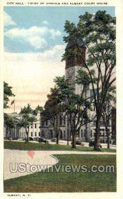 City Hall - Albany, New York NY Postcard