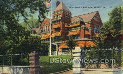 Governor's Mansion - Albany, New York NY Postcard
