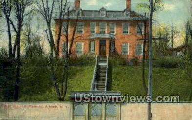 Old Schuyler Mansion - Albany, New York NY Postcard