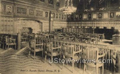 Court of Appeals, Capitol - Albany, New York NY Postcard