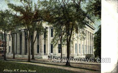 State House - Albany, New York NY Postcard