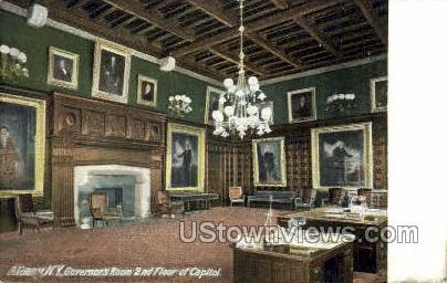 Governor's Room, Capitol - Albany, New York NY Postcard