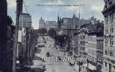State Street - Albany, New York NY Postcard