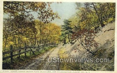 Lower Indian Ladder Road - Albany, New York NY Postcard
