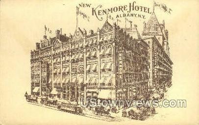 New Kenmore Hotel - Albany, New York NY Postcard