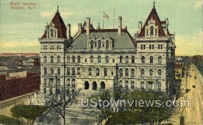 State Capitol - Albany, New York NY Postcard