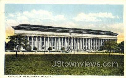 State Education Bldg - Albany, New York NY Postcard