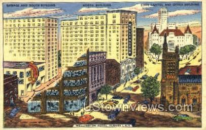 Wellington Hotel - Albany, New York NY Postcard