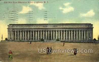 The New State Education Bldg - Albany, New York NY Postcard