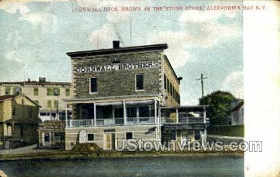 Cornwall Bros. - Alexandria Bay, New York NY Postcard