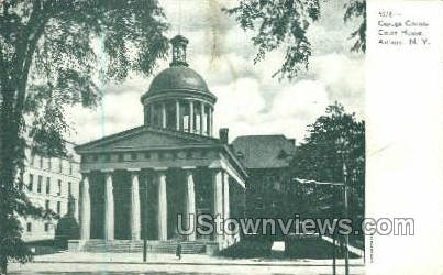 Court House - Auburn, New York NY Postcard