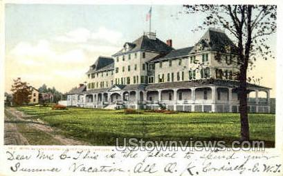Hotel Ausable - Ausable Chasm, New York NY Postcard
