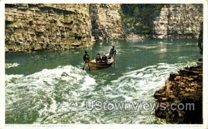 The Rapids - Ausable Chasm, New York NY Postcard