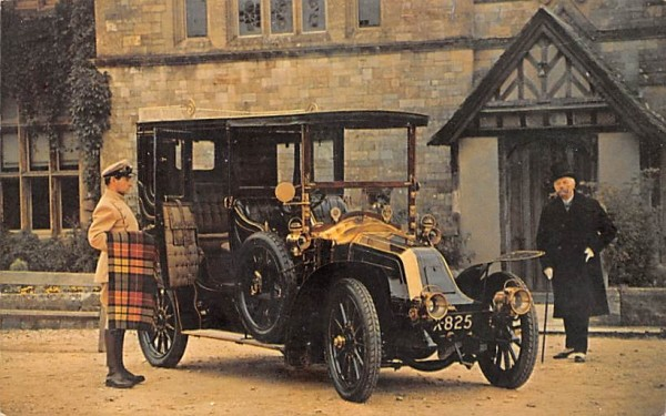 1906 20/30 Renault Andes, New York Postcard
