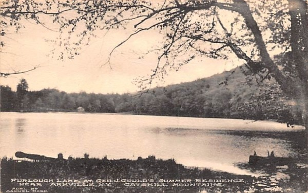 Furlough Lake Arkville, New York Postcard