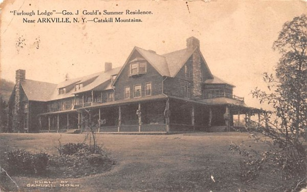 Furlough Lodge Arkville, New York Postcard