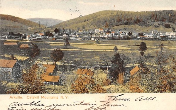 Catskill Mountains Arkville, New York Postcard