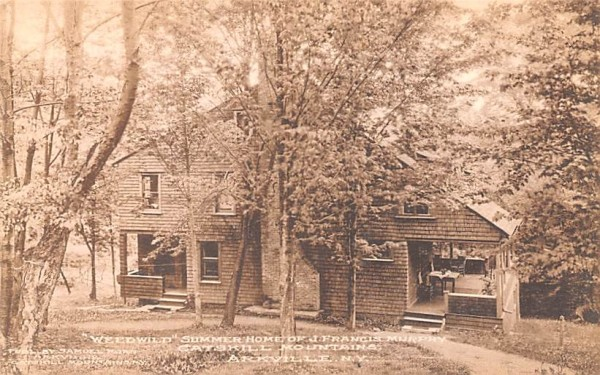 Weedwild Summer Home of J Francis Murphy Arkville, New York Postcard