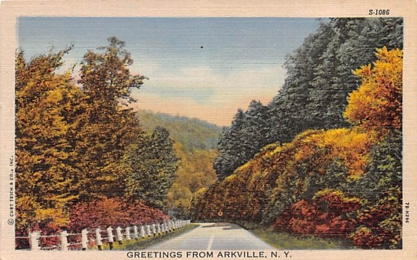 Greetings from Arkville, New York Postcard